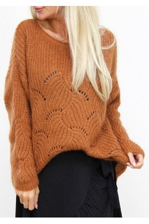 Bine Knit - Brown
