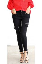 Zigge Cool Pants - Black