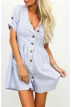 Luiza Stripe Dress