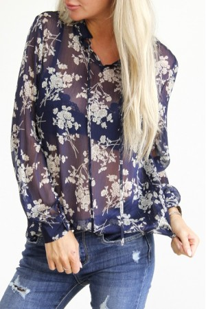 Lovie Flower Shirt