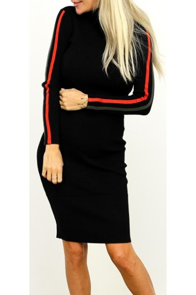 Miana Soft Dress - Black