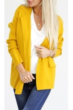 Zala Knit Blazer - Curry