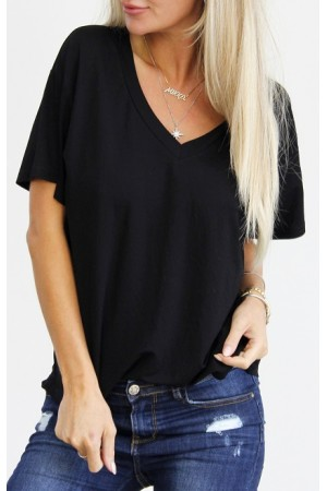Wana Basic T-Shirt - Black
