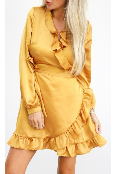 Lamia Dress - Yellow