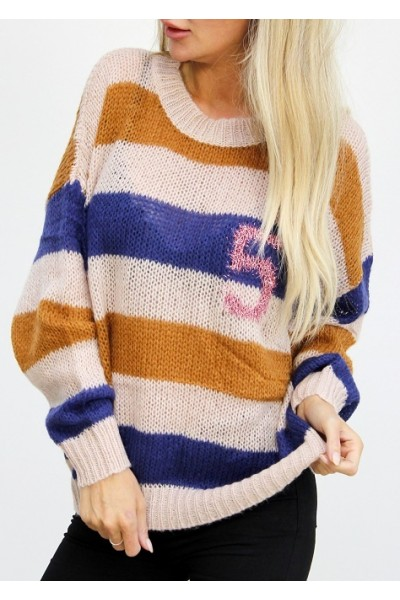 Flika Knit - Blue