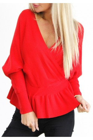 Maddie Soft Knit - Red
