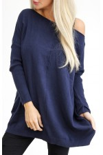 Wilma Soft Knit - Marine