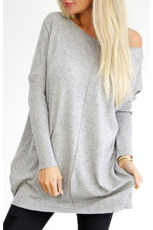 Wilma Soft Knit - Grey