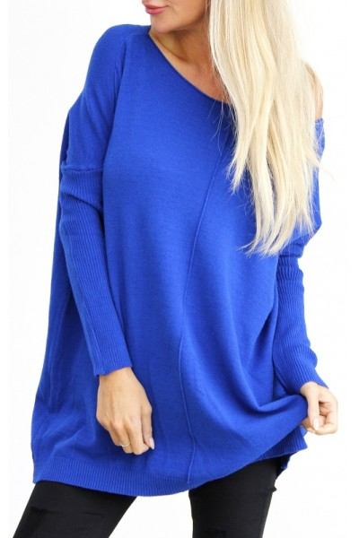 Wilma Soft Knit - Blue