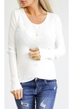 Lulli Basic Shirt - White