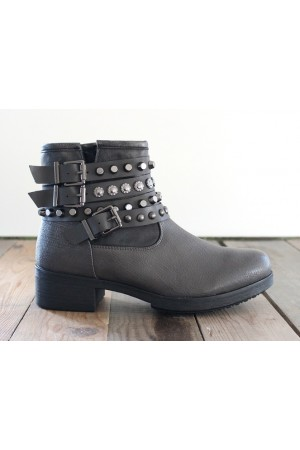 Jana Cool Boots - Grey