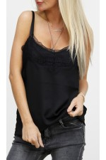 Cherri Lace Top - Black