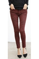 Pilo Leo Pants - Bordeaux