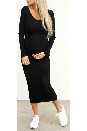 Tilly Soft Dress - Black