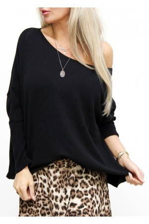 Flamira Knit - Black