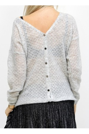 Amy Knit - Light Grey