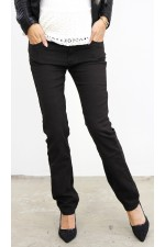 Tany Soft Pants - Dark Brown