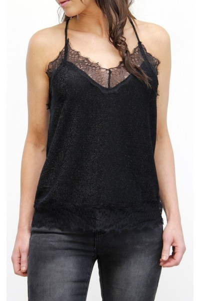 Kani Shine Top - Black
