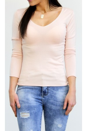 Vinti Basic Shirt - Light Rose