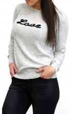 Love Wool Knit - Grey