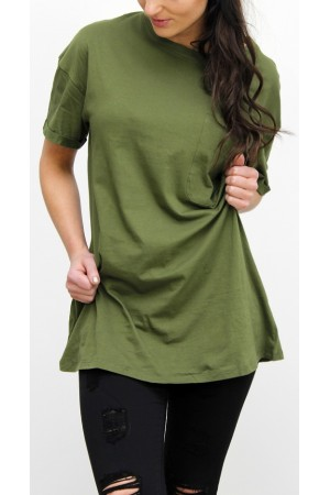 Wang Long T-Shirt - Khaki