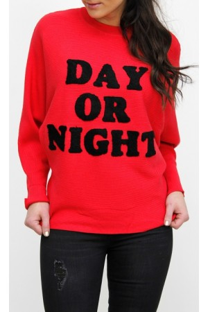 Day Knit - Red
