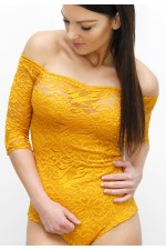 Elza Lace Body - Yellow