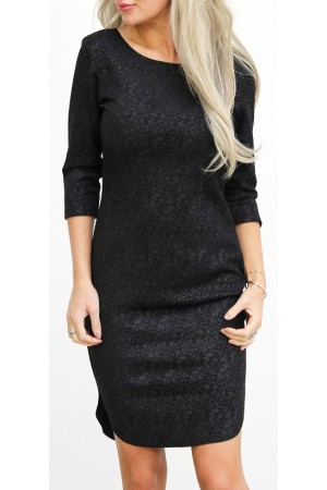 Manda Soft Dress - Black