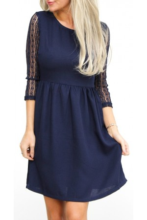 Amida Dress - Marine