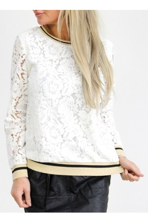 Melane Shirt - White