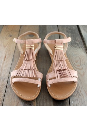 Rianna Sandal - Old Rose