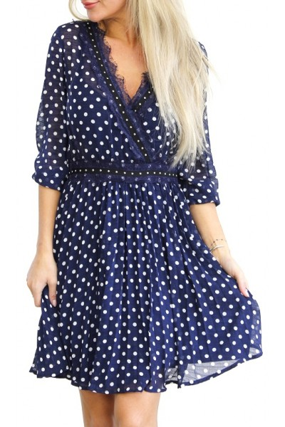 Claire Dot Dress