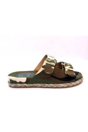 Cille Army Sandal