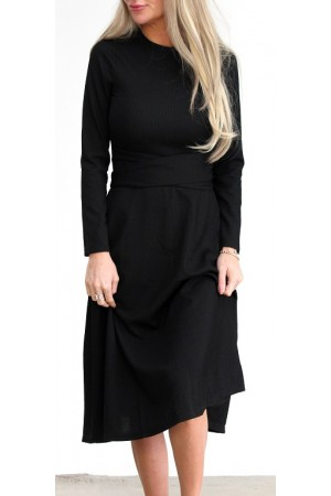 FORUDBESTILLING - Randa Dress - Black