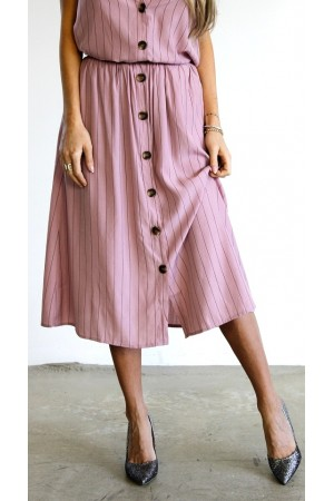 Nori Skirt - Rose