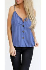 Nori Top - Blue