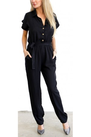 Siff Jumpsuit - Black