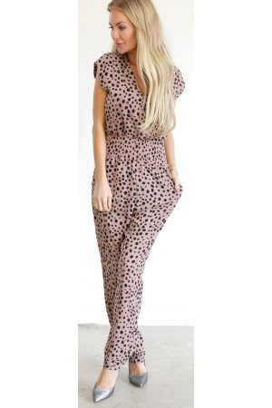 Loria Jumpsuit - Old Rose