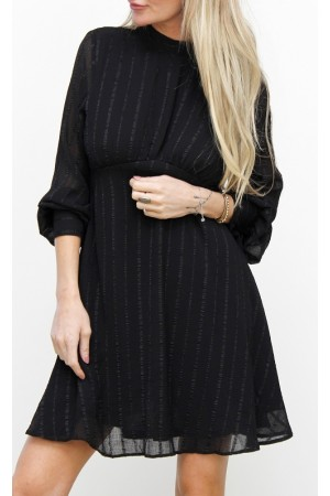 Lari Shine Dress - Black