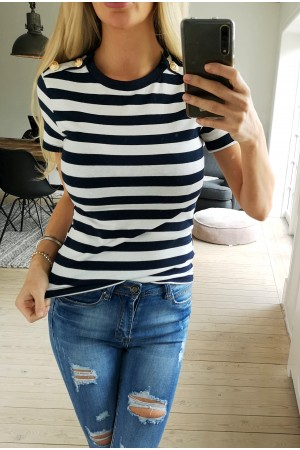 Miss Stripe Shirt