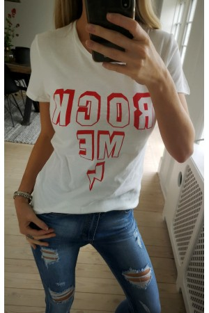 Rock Me T-Shirt - White