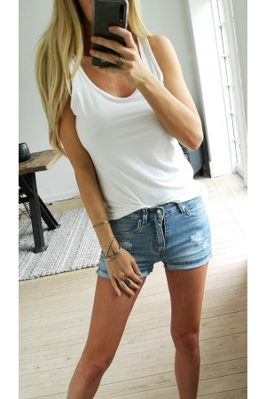 LIBERTE - Alma Tank Top - White