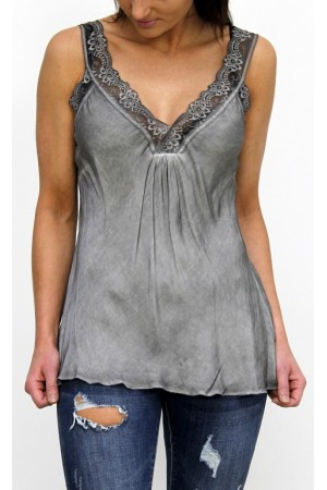 Maldi Beauty Top - Grey