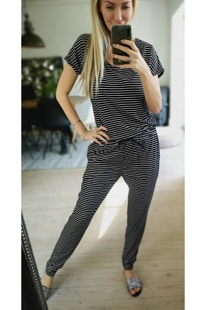 LIBERTE - Alma Soft Jumpsuit - Stripe