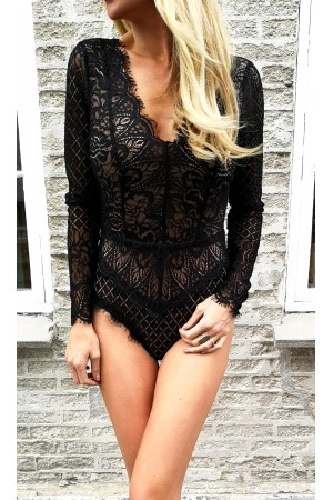 Felisa Lace Body - Black