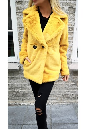Oria fake Jacket - Yellow