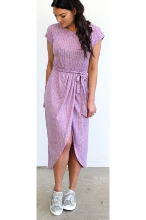 Diva Dress - Purple