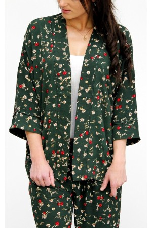 Urania Loose Blazer - Green