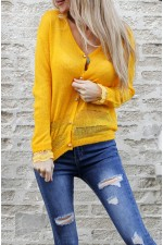 Vilma Cardigan - Yellow