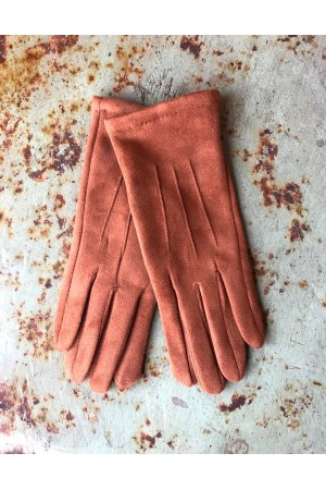 Mia Gloves - Brown